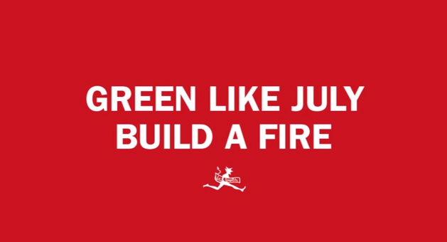 Dal 9 settembre in streaming esclusivo su Rockit Build the fire dei Green Like July