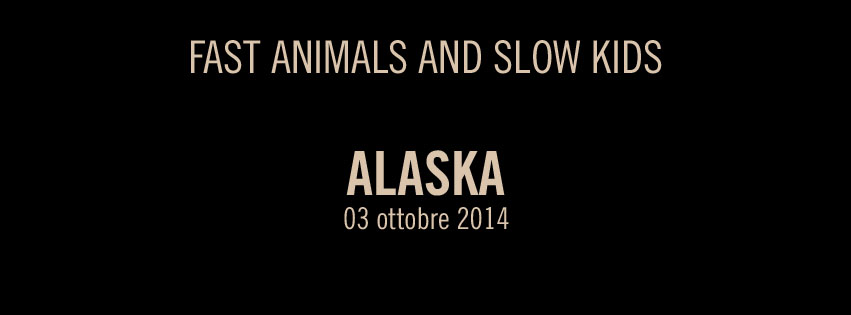Nuovo album Fast Animals And Slow Kids