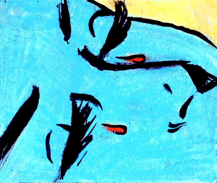 Illustrazioni di Highlighter & Sharpie Party (http://notalkingplz.tumblr.com/) -