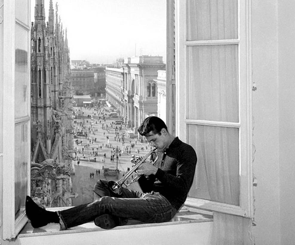 Chet Baker a Milano