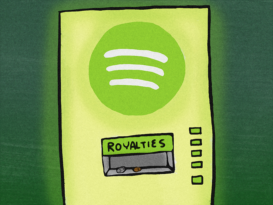 Brad Jonas per Pando - Le royalty di Spotify