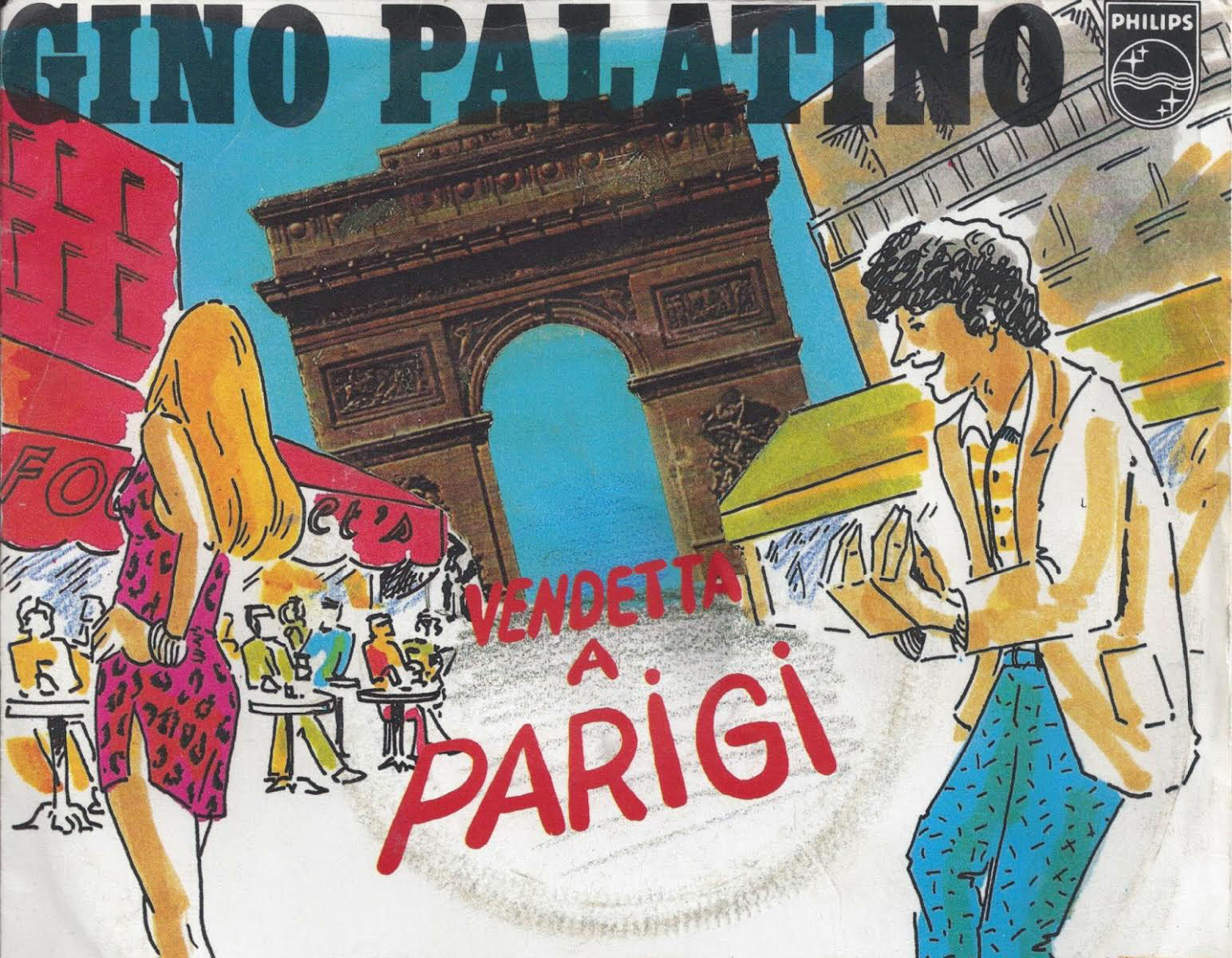 Gino Palatino, Vendetta a Parigi