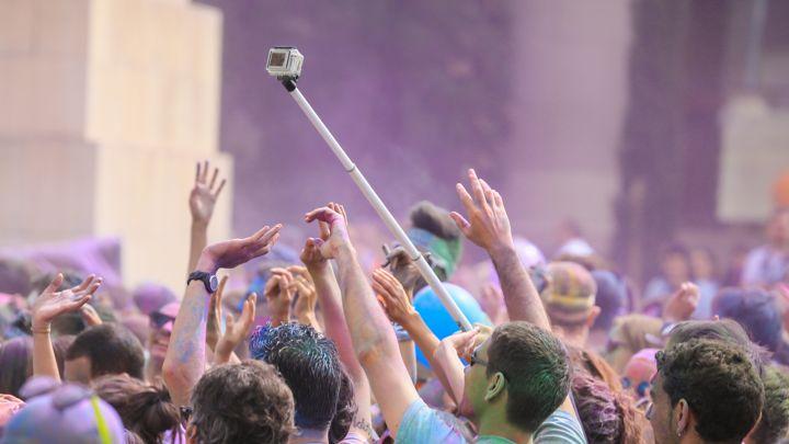 Selfie Stick ai concerti