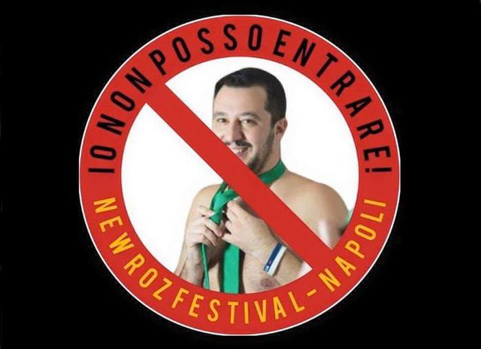 99 posse Matteo salvini replica facebook