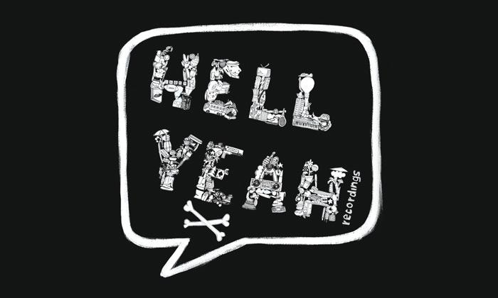 Hell yeah recordings logo etichetta