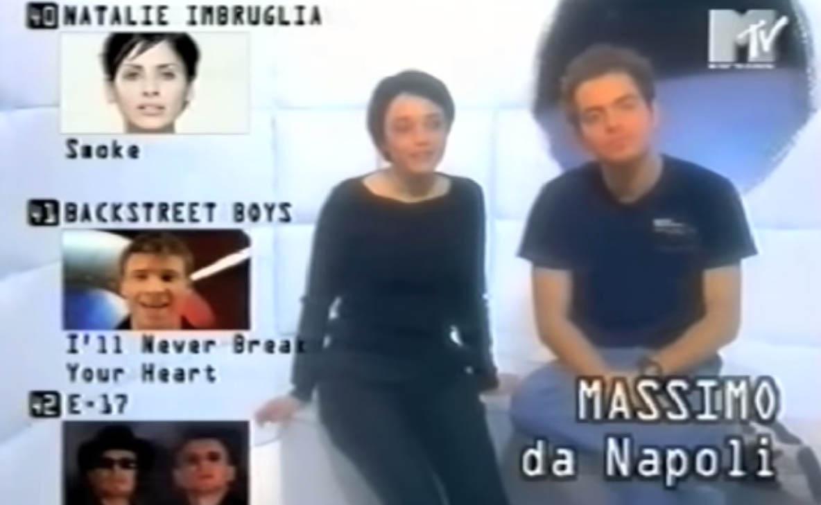 Daniele Bossari e Carmen Consoli a Select MTV