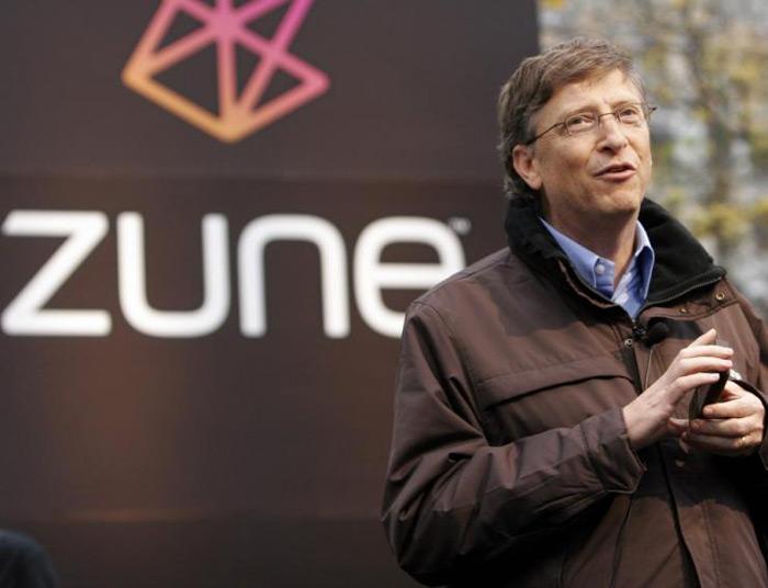 Bill Gates - Bill Gates Microsoft Zune