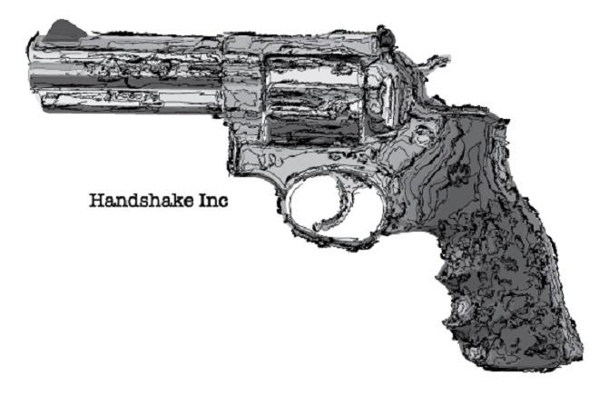 Il logo della Handshake Inc. - vendesi etichetta craigslist