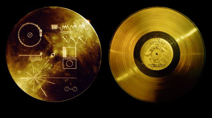 Voyager disco d'oro nasa