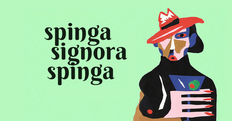 Collage di Michele Papetti - Spinga Signora Spinga 2015