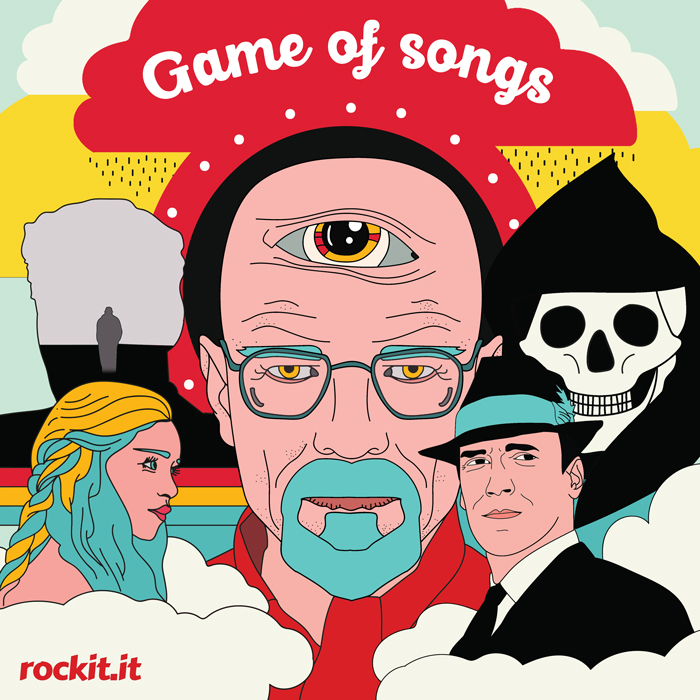 Illustrazione di Martina Lorusso - Game of Songs