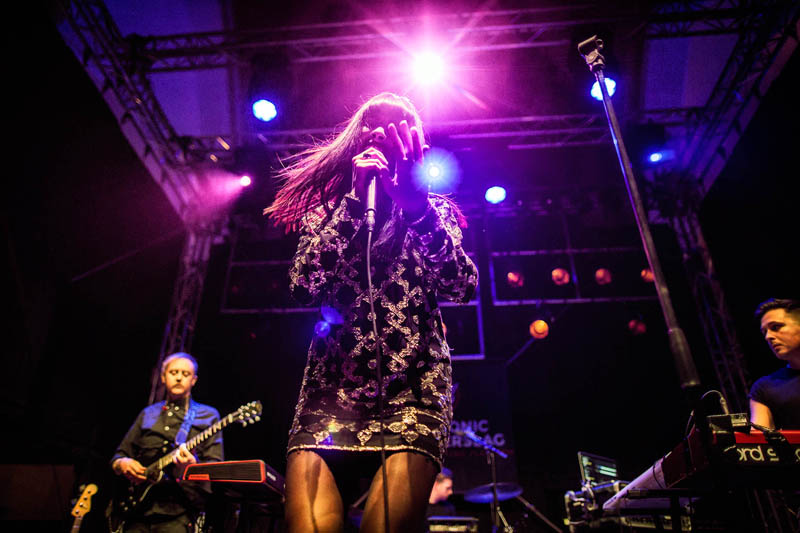 Il concerto di Charlotte OC all'Eurosonic - Charlotte OC all'Eurosonic