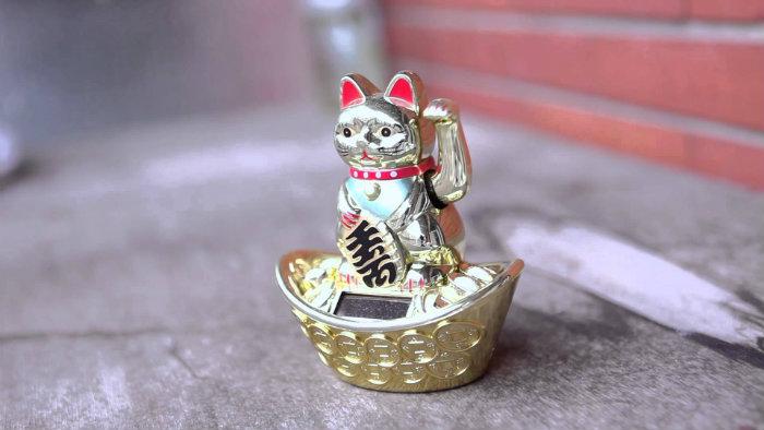 Gatto portafortuna cinese