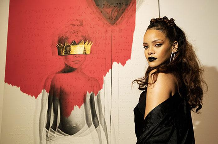 Rihanna, foto di Billboard - Rihanna