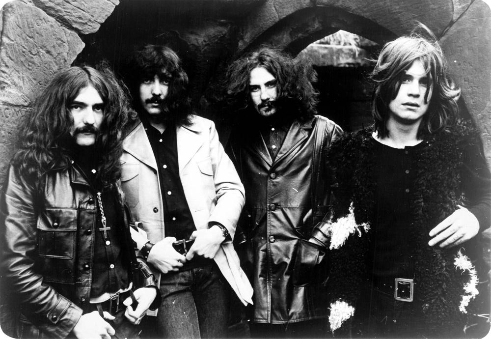 I Black Sabbath nel 1970 -