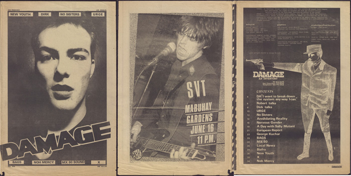 damage fanzine punk free download
