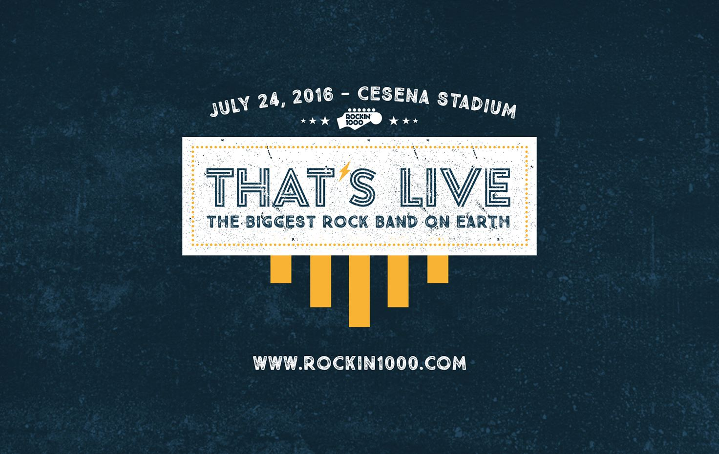 Rockin'1000 That's Live - That's Live -The biggest rock band on earth