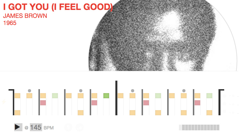 Il pattern di I Feel Good di James Brown -