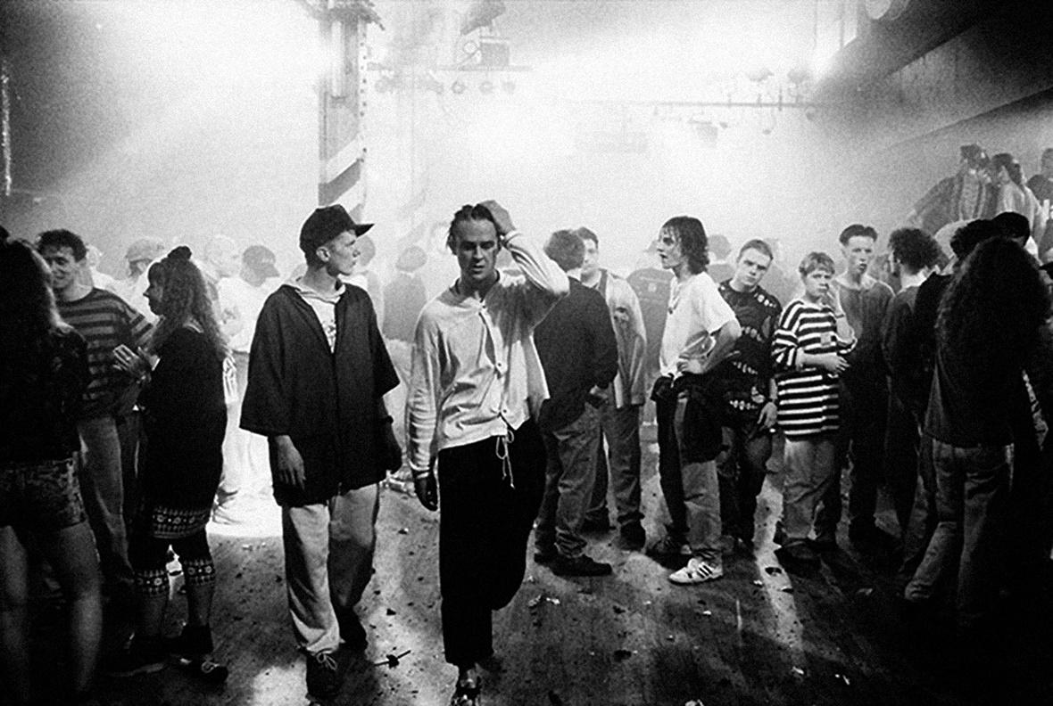 foto Tilman Brembs - Gente che balla all'Haçienda