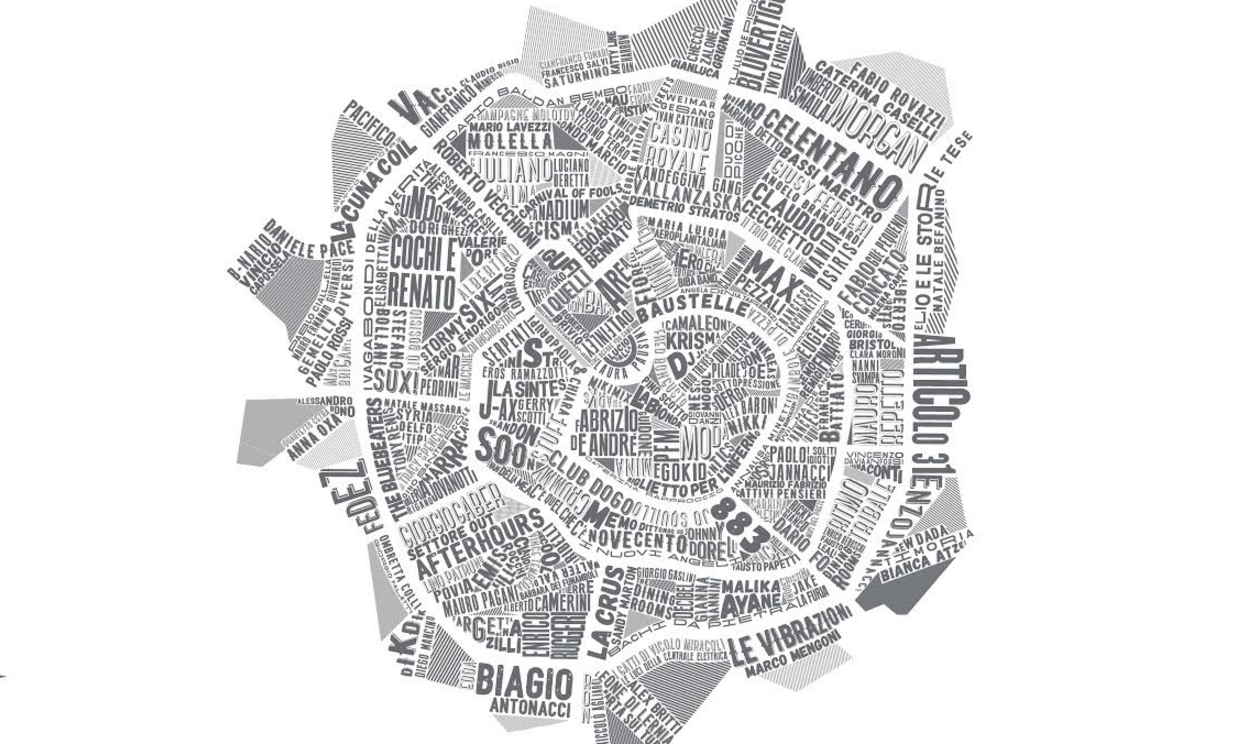 Milano Music Map