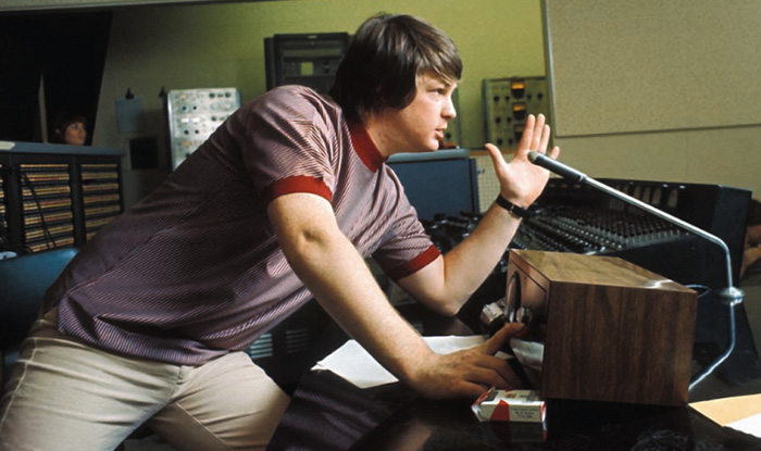 via consequenceofsound.net - Brian Wilson Beach Boys Studio