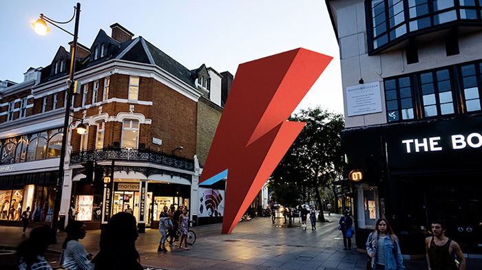 via crowdfunder.co.uk/bowie - saetta bowie statua brixton