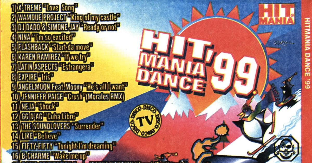 hit mania dance 99 copertina