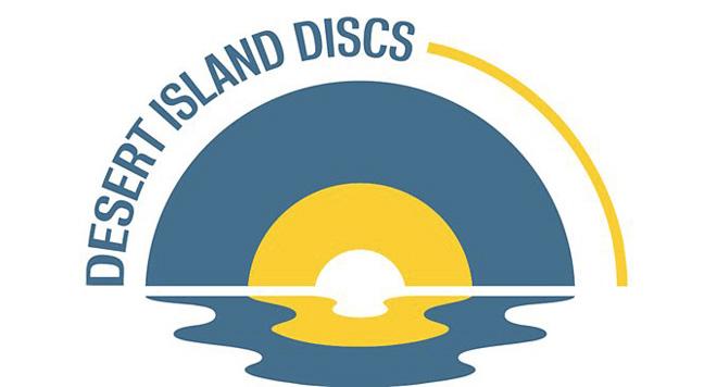 via openculture.com - Desert Island Discs logo