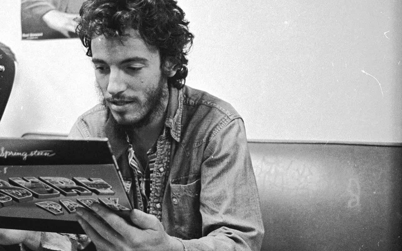 via artspecialday - Bruce Springsteen