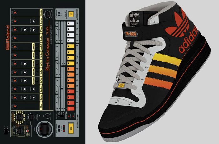 via http://neelyanddaughters.com/ - adidas-tr-808-drum-machine-modello-prezzo