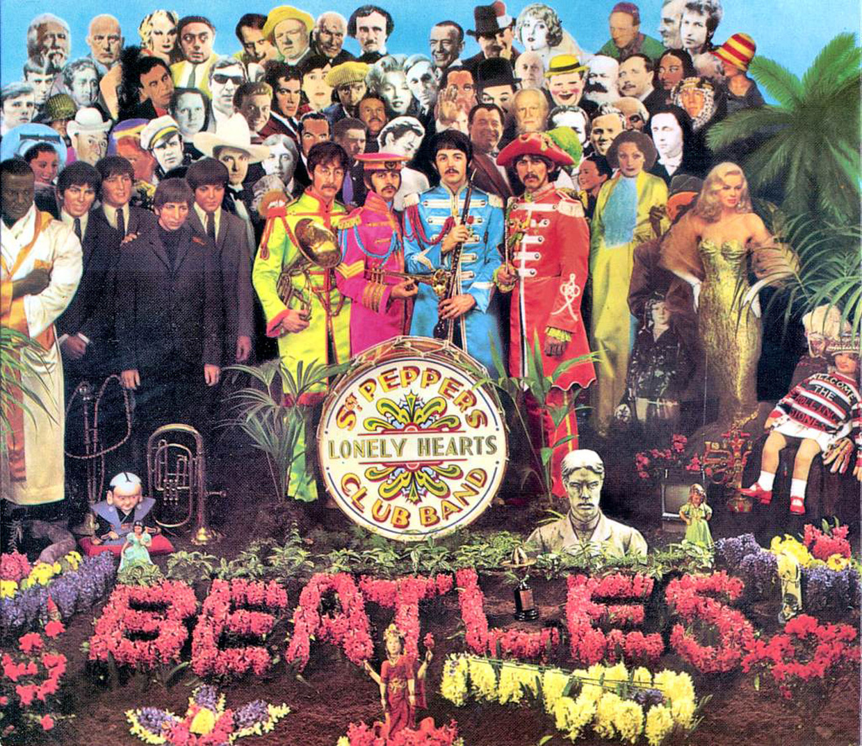 "A Liverpool un negozio pop-up dedicato a ""Sgt. Pepper's Lonely Hearts Club Band"" - La copertina di Sgt. Pepper"