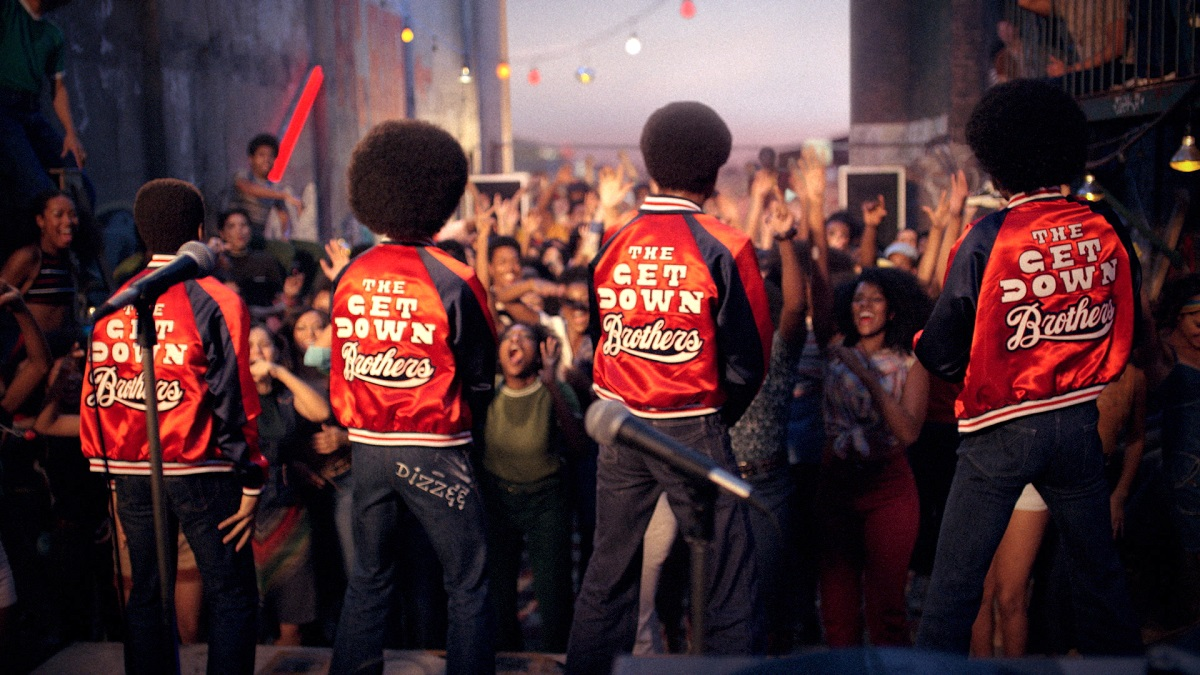 Una scena dalla serie tv The Get Down