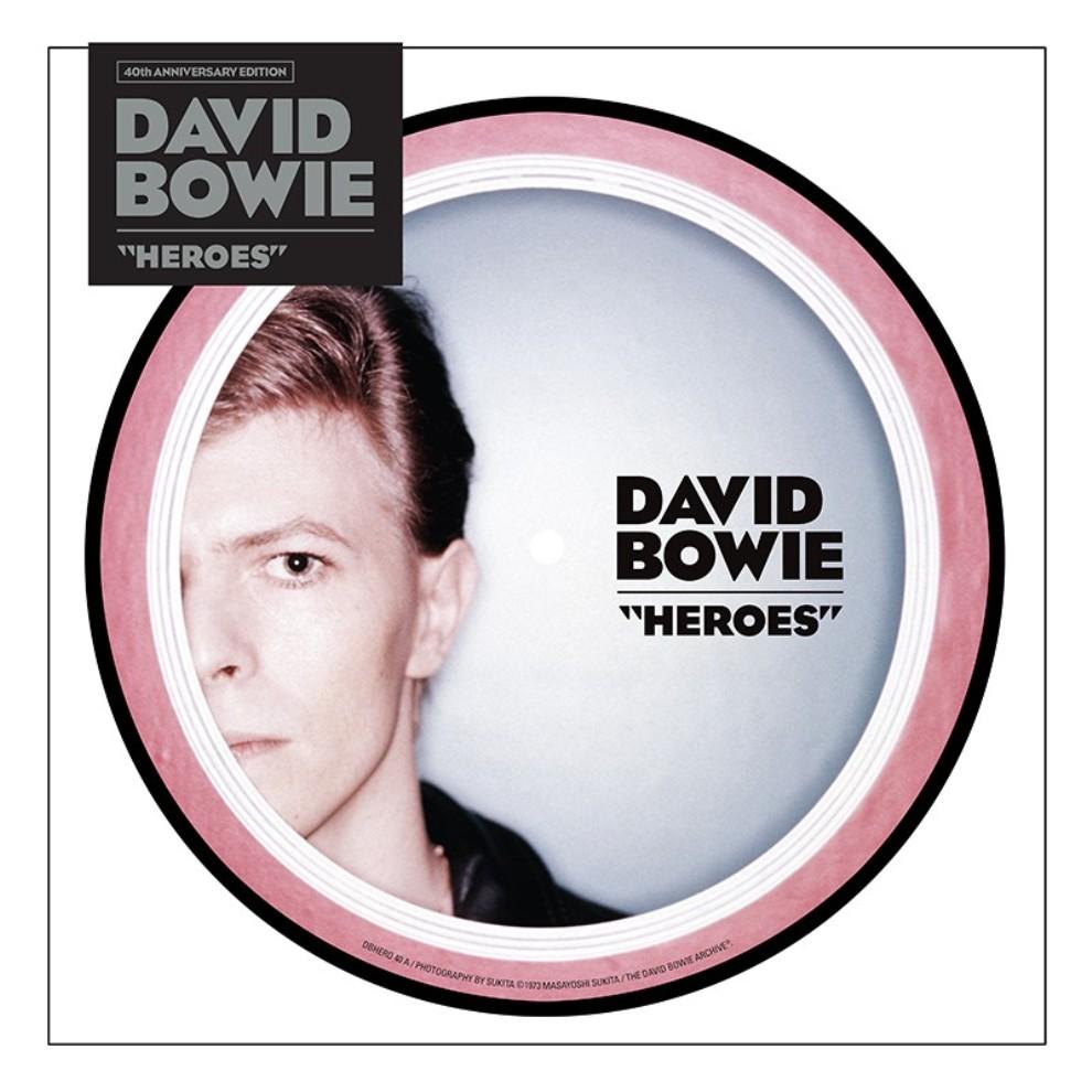 "David Bowie, in arrivo il picture disc 7 di ""Heroes"" -"