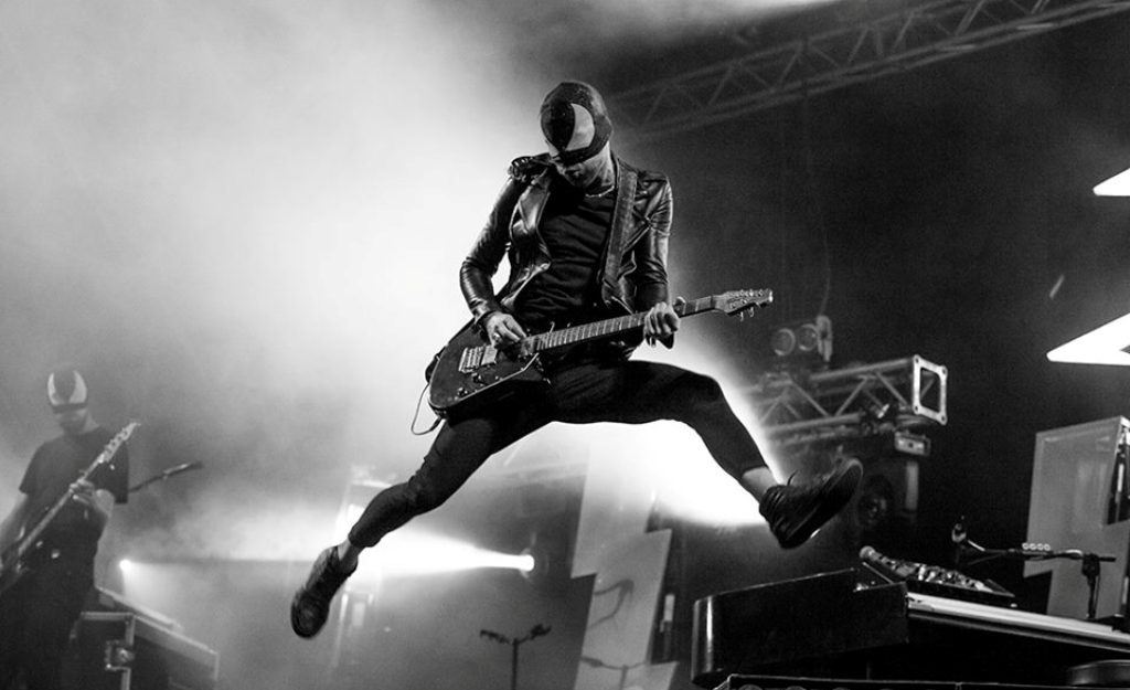 Bloody Beetroots, nuovo singolo e un tour in Nord America - Foto dalla pagina Facebook di The Bloody Beetroots