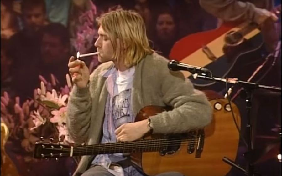 A settembre torna MTV Unplugged - Kurt Cobain durante l'Unplugged dei Nirvana