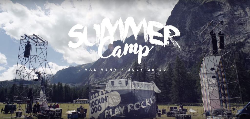 "Un'immagine del ""Rockin'1000 Summer Camp - Official Aftermovie"