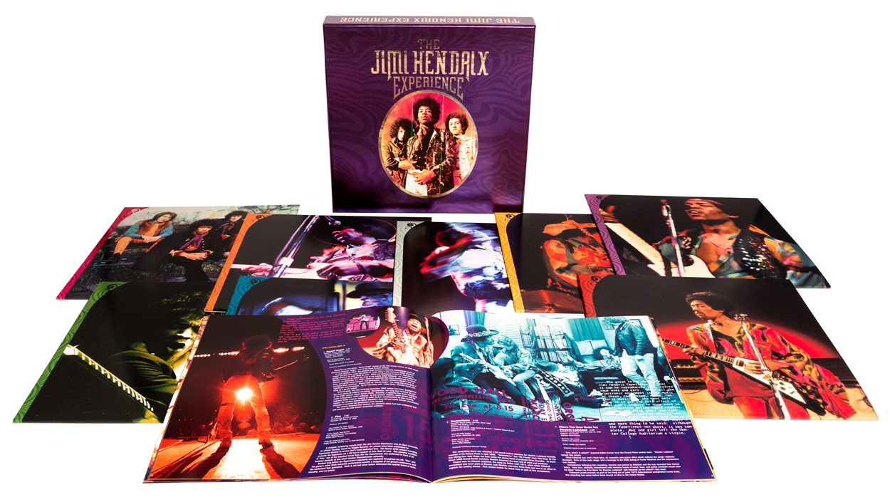 via SuperDeluxeEdition - The Jimi Hendrix Experience: 8LP Box Set