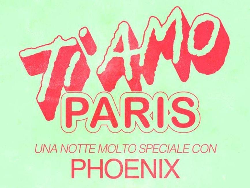 Phoenix in concerto a Parigi