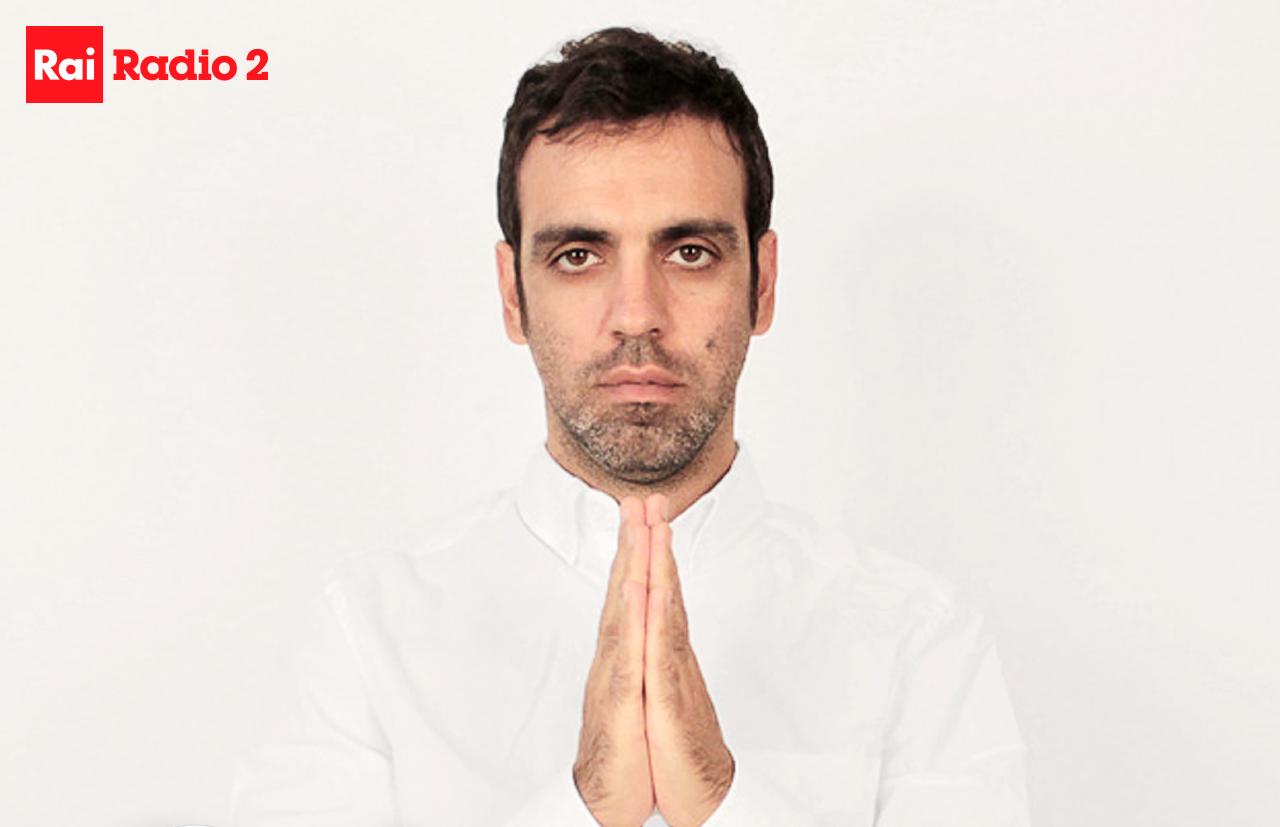 Colapesce a Radio2 Live