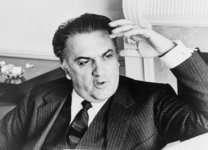 Federico Fellini - foto via Wikimedia Commons