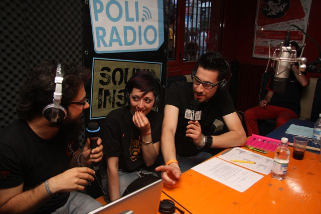 Foto di Carol Alabrese - I marta sui tubi dal vivo in trio