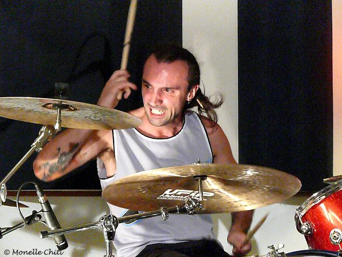 Ivan Graziani in uno scatto di Claudio Meloni -