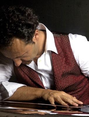 Samuel e Mannarino (immagine dal documentario sul Making of del brano)