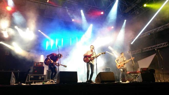 I raunchies sul palco