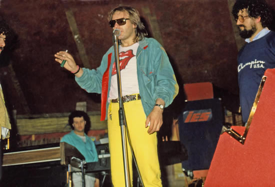 Vasco Rossi a Lomaniga, 1983 / Credits @Casateonline.it