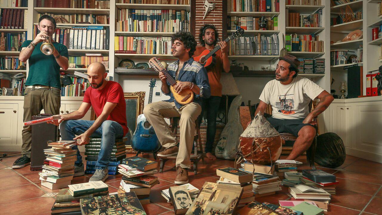 Dal blues africano al folk partenopeo: i La Maschera raccontano il nuovo album Intervista