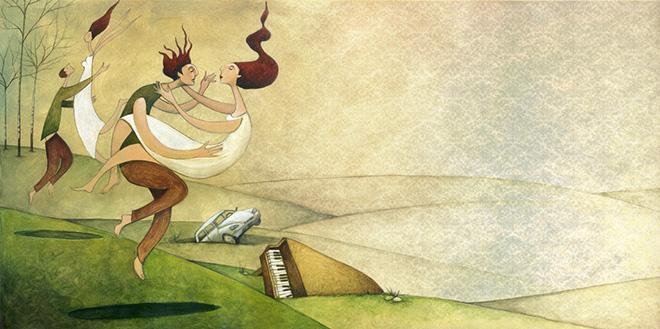 La fotografia sportiva - Illustrazione di Enzo De Giorgi