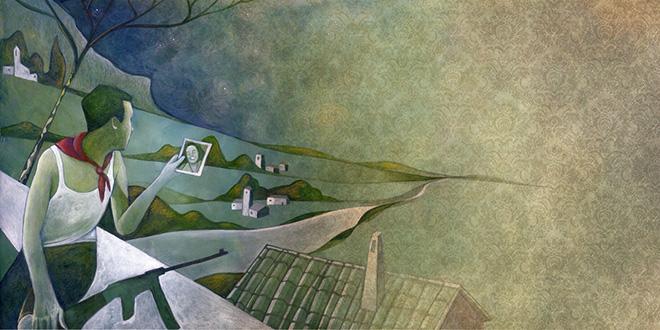 Sai com'è - Illustrazione di Enzo De Giorgi