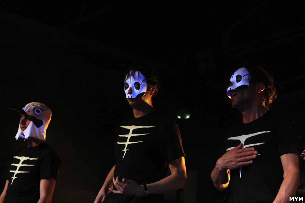 Tre Allegri Ragazzi Morti - Immagine di Anastasia Massone