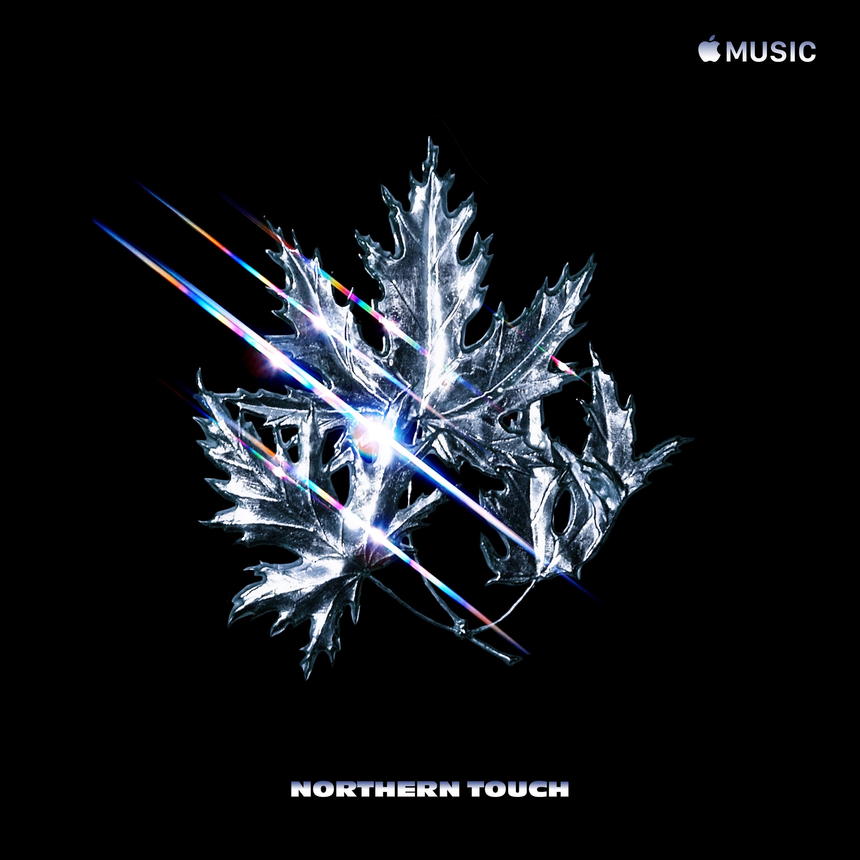 "Artwork per Apple Music della global playlist ""Northern Touch"""